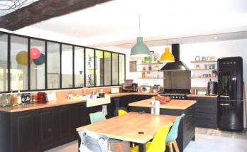 Mettre une verrière dans une cuisine Haguenau