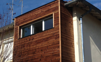 Extension en bois Haguenau