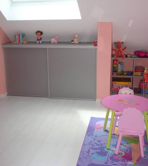 Aménagement d'une chambre d'enfant sous les combles Haguenau