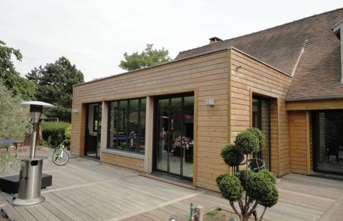 Avantages extension bois Haguenau
